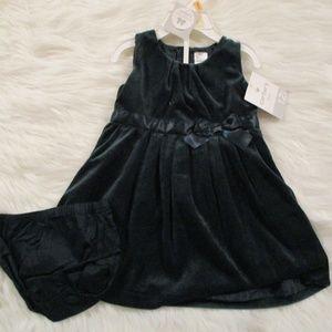 Carter's Green Baby Dress